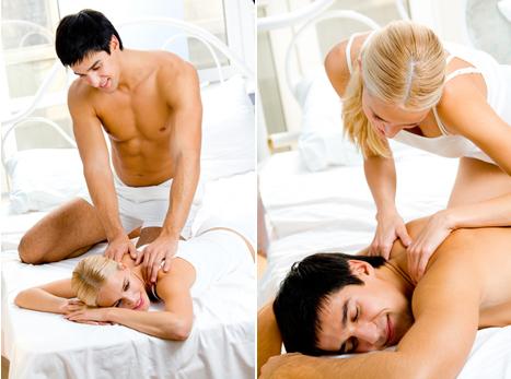 Муж и жена секс в масаже безплатно