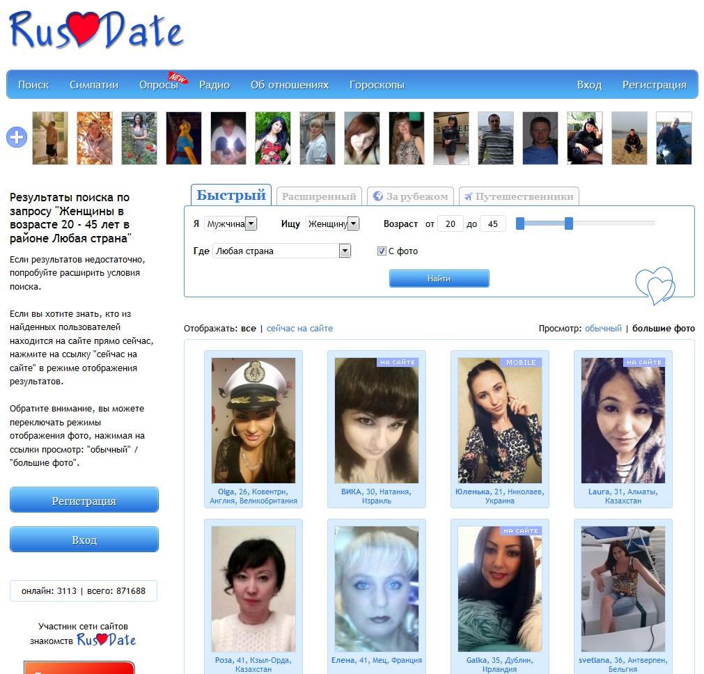 знакомств сайтов каталог мира всех