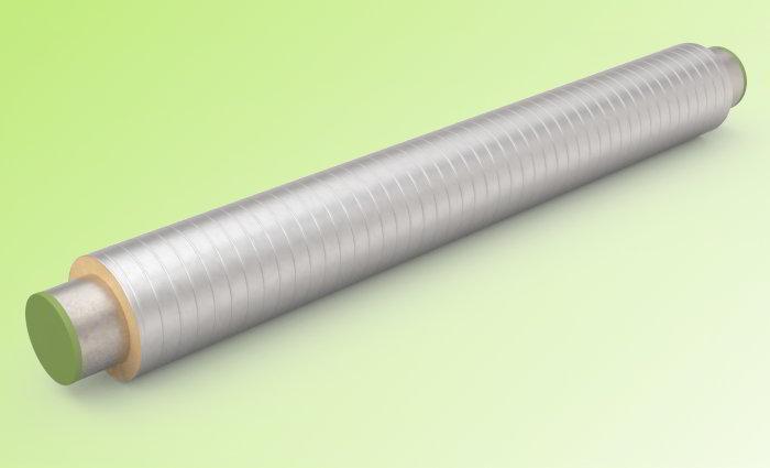 Трубы ППУ в оболочке из оцинкованной стали ППУ-ОЦ
