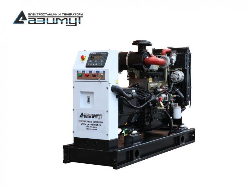Дизель генератор мощностью 30 кВт Азимут АД-30С-Т400-1РМ11