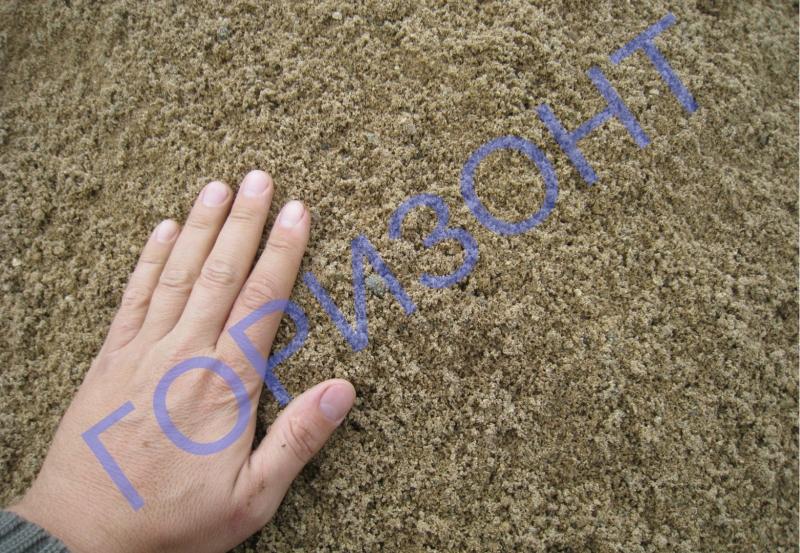 Доставим строительный песок