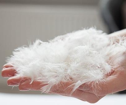 Пух перо, полупух, шлейс, смеси, подушки, одеяла.